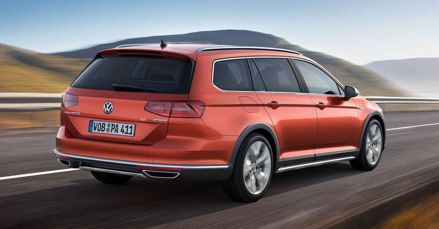 nuova volkswagen passat alltrack 2016 wagon off road. Black Bedroom Furniture Sets. Home Design Ideas