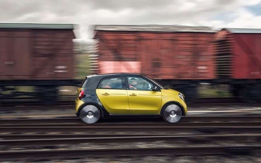 smart forfour 2016 forrail