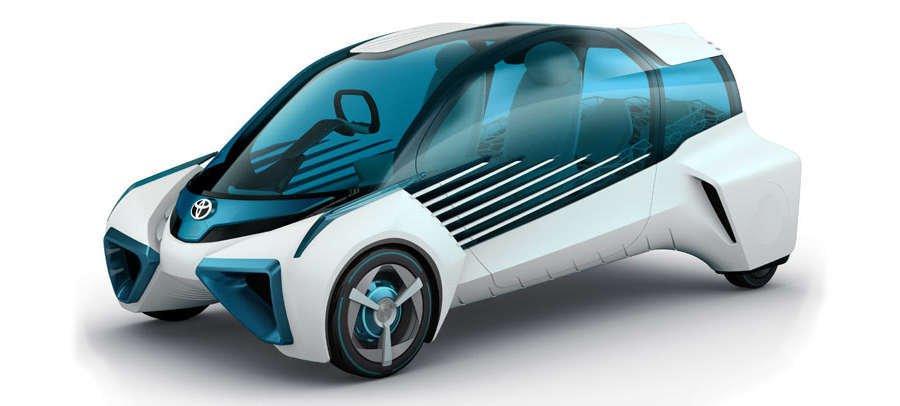 Toyota FCV Plus Tokyo Motor Show 2015