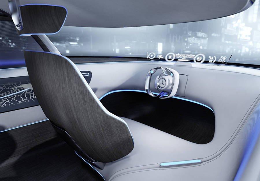 interni Mercedes-Benz Vision Tokyo