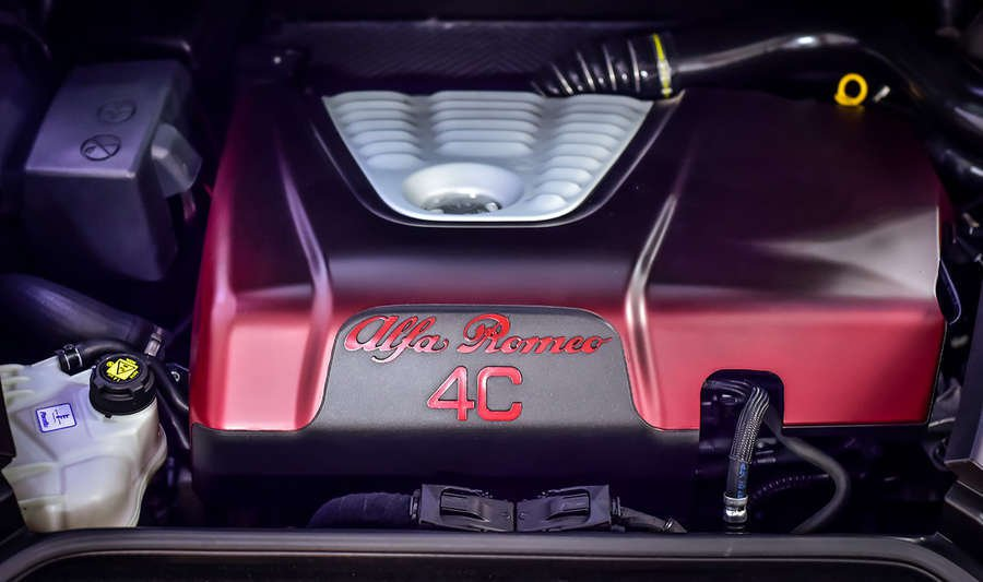 motore Alfa Romeo 4C La Furiosa
