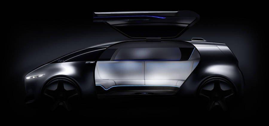 nuova Mercedes-Benz Vision Tokyo