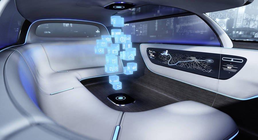 ologramma Mercedes-Benz Vision Tokyo