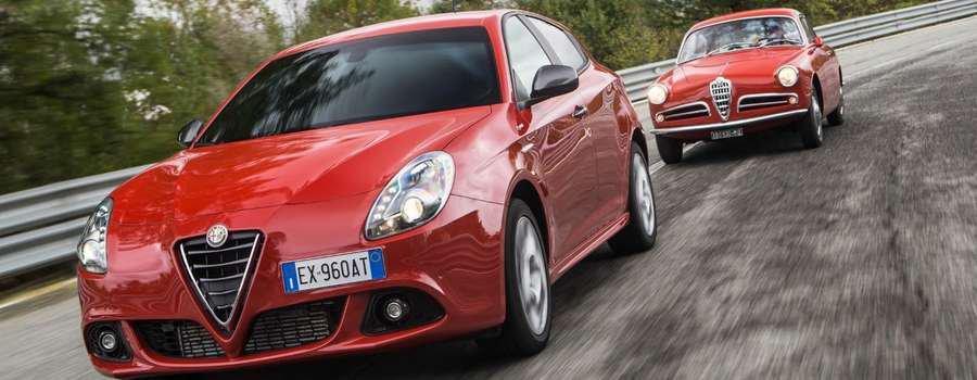 guida una Alfa Romeo Giulietta