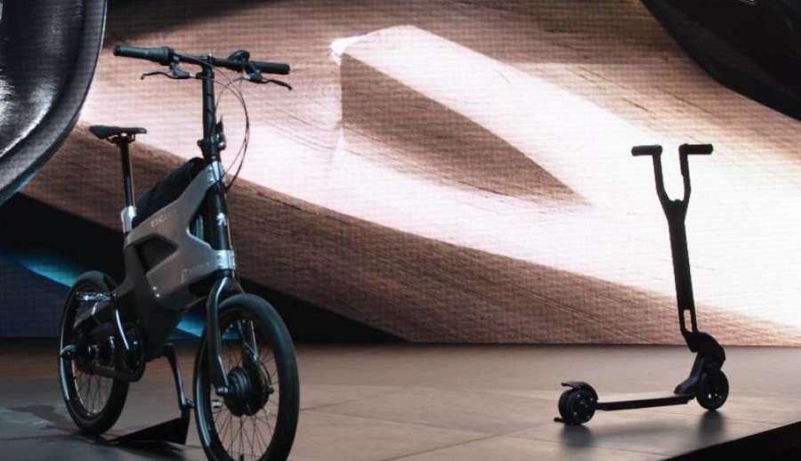 trasporto intermodale auto bici monopattino