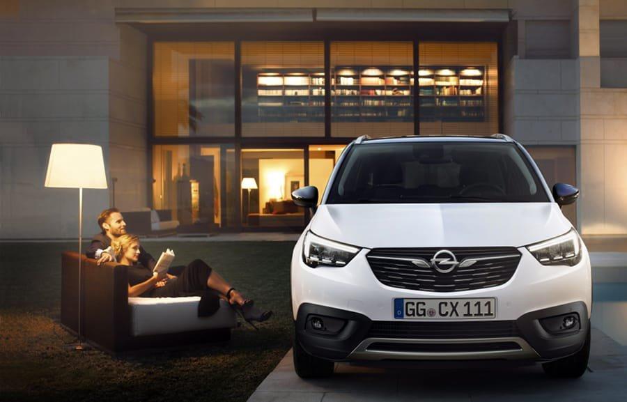 Nuova Crossland X: crossover SUV di Opel