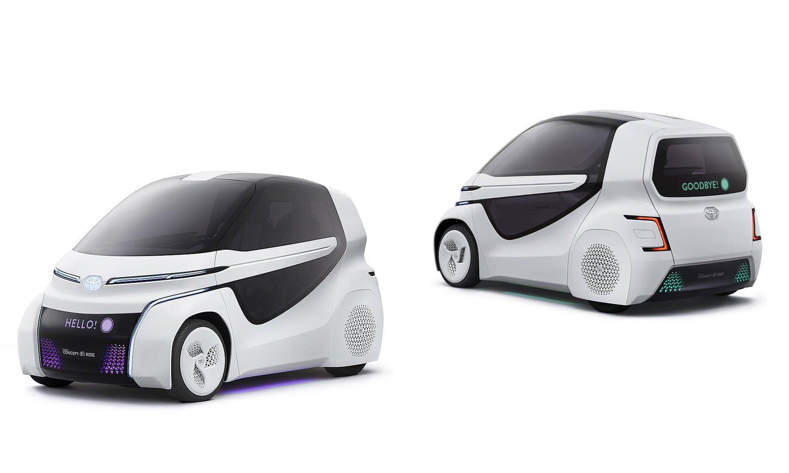Non è un paese per vecchi? La concept Toyota del futuro è un auto adatta per anziani!